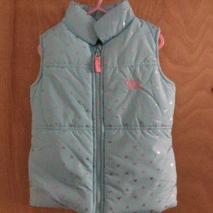 Girls Puffer Zip Vest